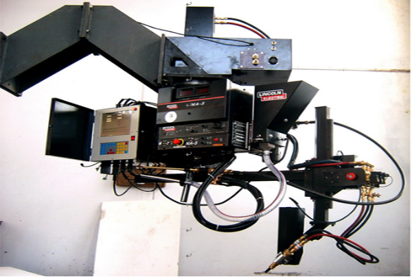Hanging Type Saddle Automatic Welding Machine
