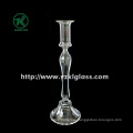 Glass Candle Holder for Table Ware with Single Post (DIA9.5*29)