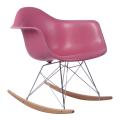 Eames RAR plastic living room chairs