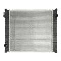 Aluminum plastic brazed spare parts car cooler radiator