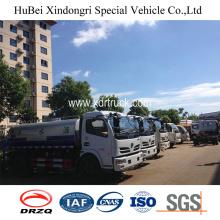 Dongfeng 4cbm Φορτηγό νερού Bowser