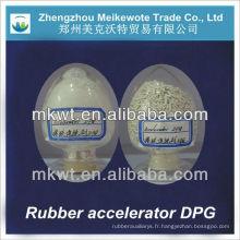 Poudre chimique huilé/granulés caoutchouc auxiliaire/caoutchouc additif D/DPG