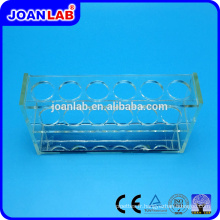 JOANLAB Plexiglas Test Tube Rack pour usage de laboratoire
