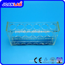 JOANLAB Plexiglass Test Tube Rack for Lab Use