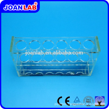 JOANLAB Plexiglass Test Tube Rack for Lab Use