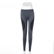 Custom lady yoga legging seamless sport pants running wear