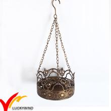 As Decorações Home Crown Tealight Holder