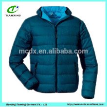Fashion designer blue boys polyfill jacket
