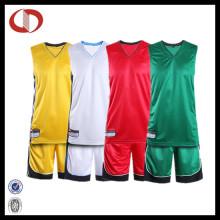 Uniformes de equipo de baloncesto por encargo con precio barato