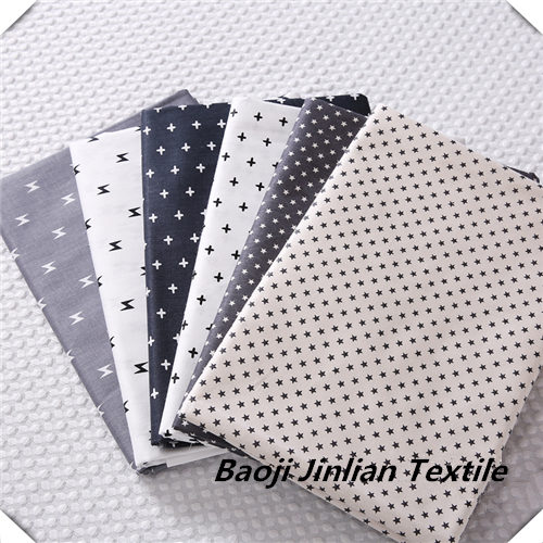 Formal Poplin Shirt Fabric With Print