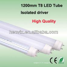 La meilleure qualité 18w 1200mm t8 led tube fixture