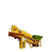 Easy Mix Mobile Concrete Batching Plant Equipment