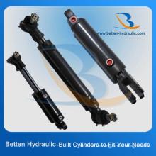 Cilindro hidráulico de 2 etapas para equipos de minería