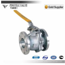 Stainless steel ball valve with handles picture