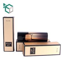 Tube cosmétique fait sur commande de rouge à lèvres de boîte cosmétique de bonne qualité d'or pour le baume de lèvre