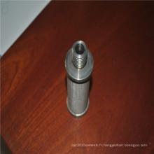 cartouche filtrante en acier inoxydable / crépine en treillis métallique / filtre à eau en résille