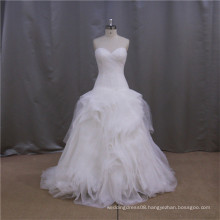 Elegant White Alibaba snow white ball gown lace wedding dress