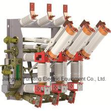 Interruptor de rotura de carga de Yfzrn21-12D/T125-31.5-Hv con cuchilla de puesta a tierra