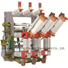Interruptor de interrupción de carga Yfzrn21-12D / T125-31.5-Hv con cuchillo de puesta a tierra