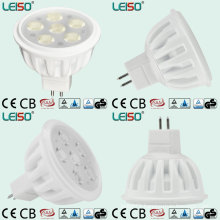 White Body and MR16 Base LED Spotlight with Halogen Size