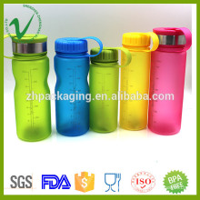 PCTG wide mouth drinking empty round bpa free plastic water bottle