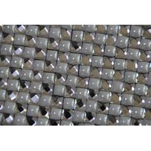 Hot melt adhesive glass crystal strass blanket 24*40cm