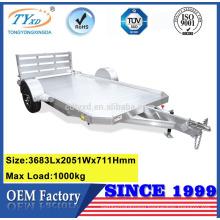 pull behind heavy duty equipment cargo utility trailers
