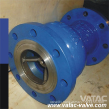 API/DIN Cast or Forged Steel Axial Flow Check Valve with Flange Ends (HQ44X)