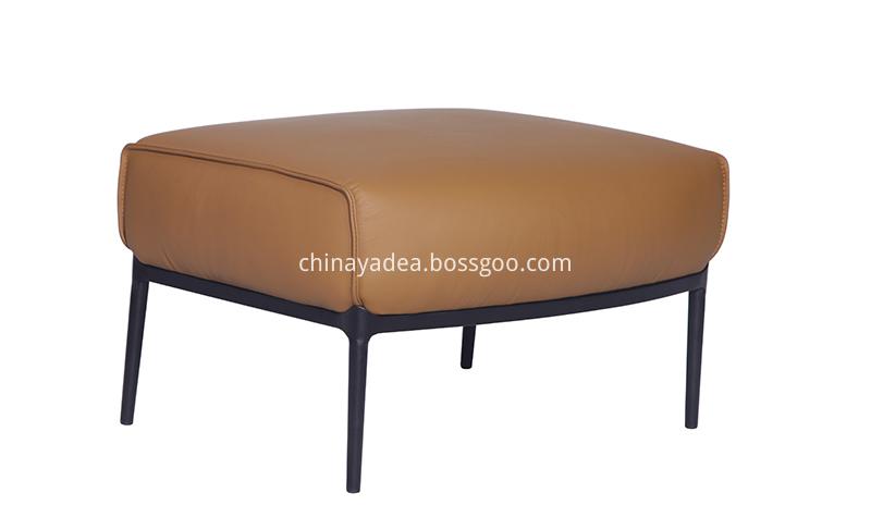 Leather-Ottoman-of-Archibald-Armchair