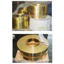 Cinta de cobre amarillo de alta calidad / bobina / hoja (C28000)