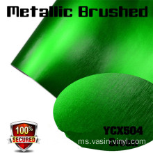 Metallic Blushed Matte Chrome Vinyl Film