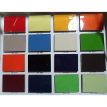 Feuille de MDF UV brillant pour armoire de cuisine (prix d'usine)