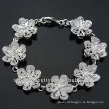 Alibaba wholesale fashion jewelry silver charm bracelet 2013 BSS-021
