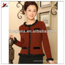 2017 fashion women's cashmere knitting cardigan