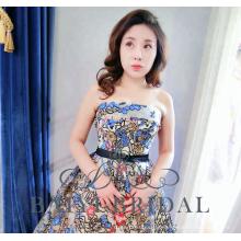 Wholesale trägerloses Schwarz für Abendkleider Zhongshan 2018 Alibaba Dress