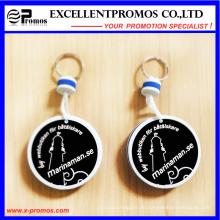 Heißer Verkaufsförderung PU-Schwimmer Keychain (EP-K573022)