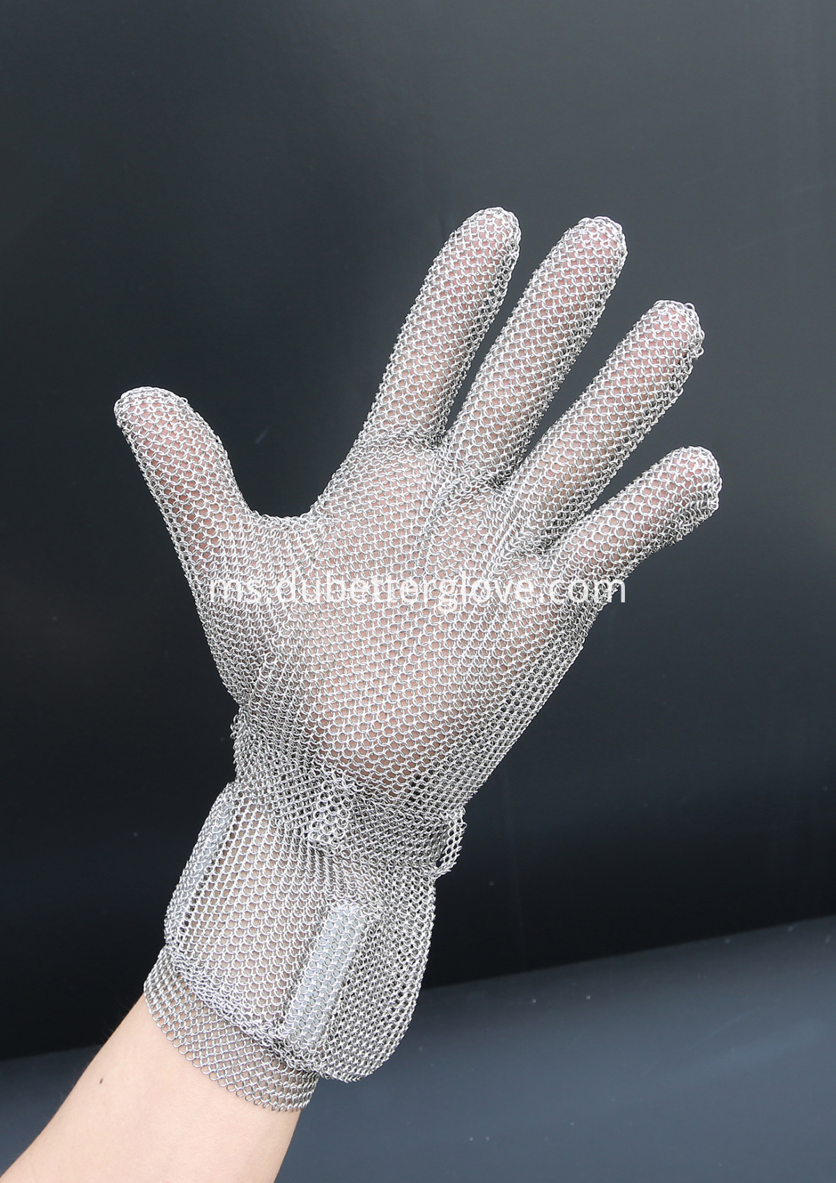 Dubetter steel mesh gloves with long cuff