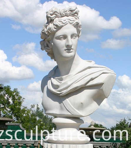 lady bust statue