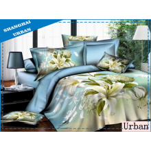 3 Pieces Microfiber 3D Duvet Cover (Set)