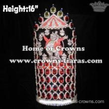 16in Large Big Tall Circus Pageant Crowns