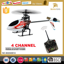 High quality plastic helicopter toy small 4ch rc helicopter with gyro
