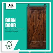 JHK-SK07-7 Decorative Internal Wood Shaker Barn Door