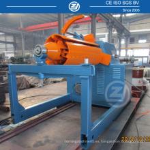 Decoiler hidráulico de 10 toneladas para máquina de laminado