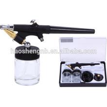HS-38 Präzisions-Dual-Action Airbrush Air Spray Kompressor Kit Set Handwerk Kuchen Kunst Farbe