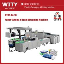 Máquina automática de corte y envoltura de papel A4