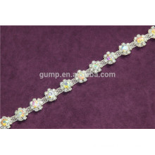 cup chain rhinestone trim shoulder chain