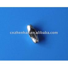 Conector de corrente metálica de 4,5mm ou fivela de talão para cortinas de rolo e cortinas romanas