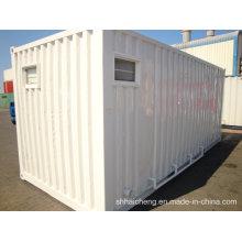Niedriges Kosten-modernes lebendes flaches Paket-Behälter-Haus für Verkauf