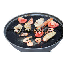 PTFE Non-stick Round Barbecue Cooking Liner , Dia 48cm , Keeps BBQ Grill Clean