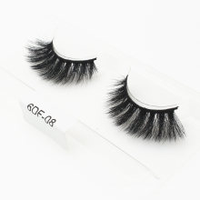 Natural Hand-Made Private Label Eyelashes 3D 5D 25mm 6D Faux Mink Strip Eyelashes